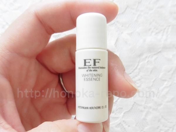 EFスキンケアホワイトニングエッセンスの肌なじみをクチコミ報告中。
