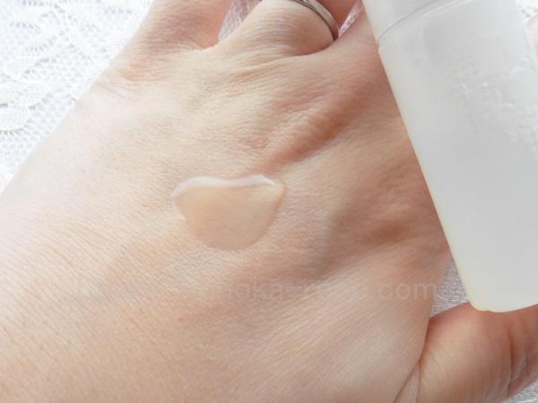 エレクトーレの化粧水の肌なじみについて。