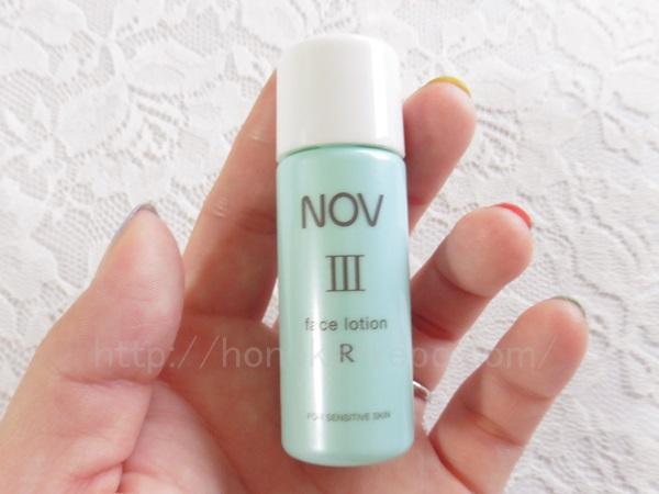 敏感肌ブランドノブのしっとりタイプ化粧水を使ってみました。