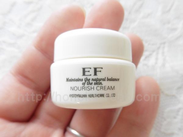 EFスキンケア ナリッシュクリームの質感報告。